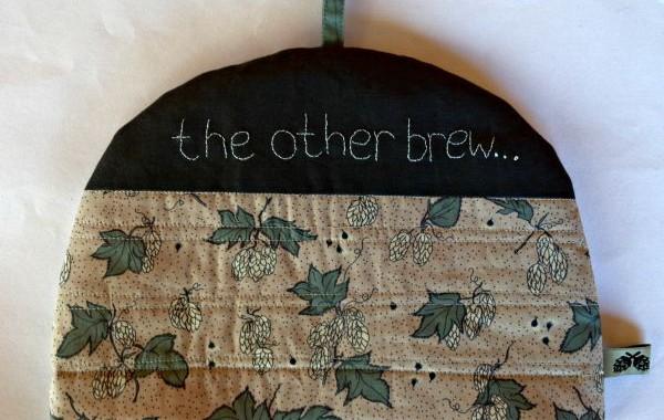 tea cosy from hop fabrics