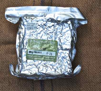 hops for home brewing in 1kg blocks