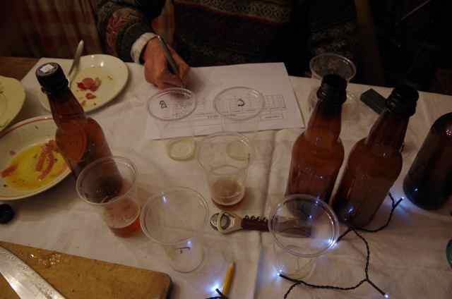 beer tasting notes, A special beer tasting continued our festive magic