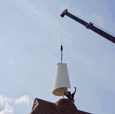 renovated oast cowl